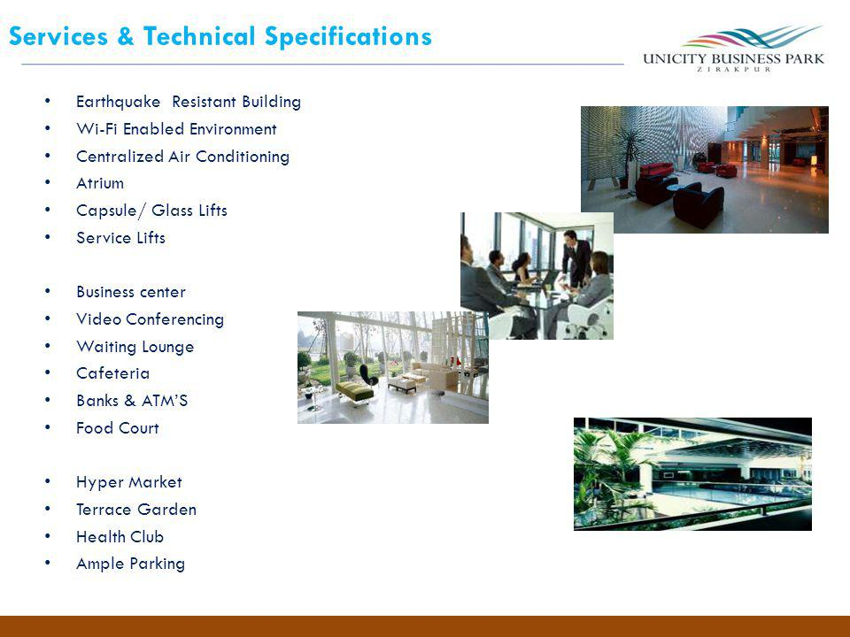 Services & Technical Specifications