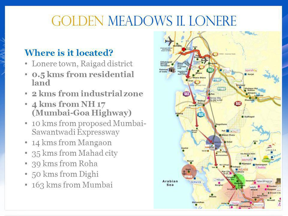 Where is it located Lonere town, Raigad district