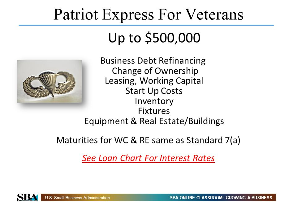 Patriot Express For Veterans