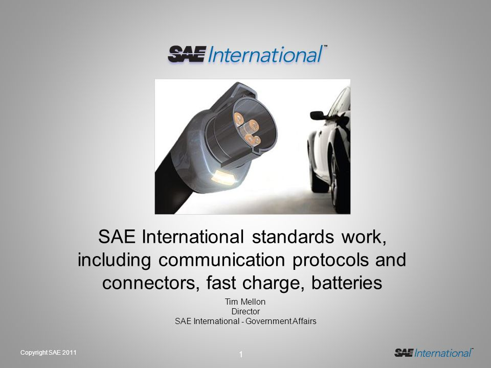 SAE International - Government Affairs