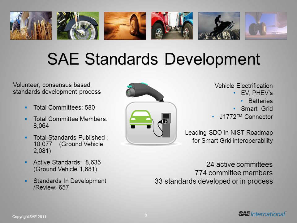 SAE Standards Development