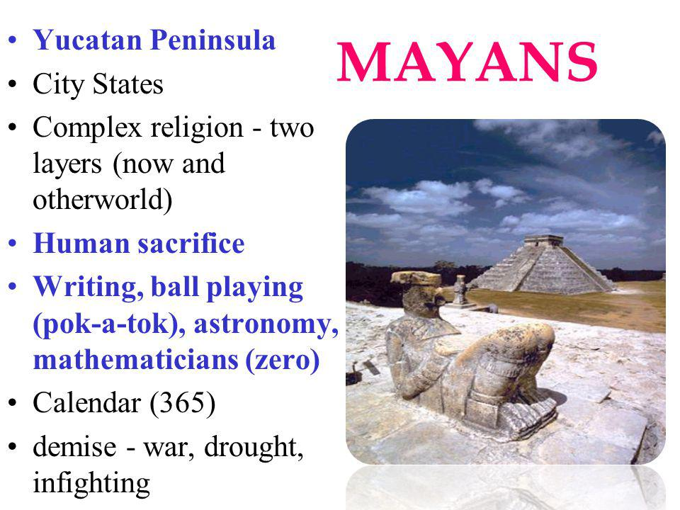MAYANS Yucatan Peninsula City States