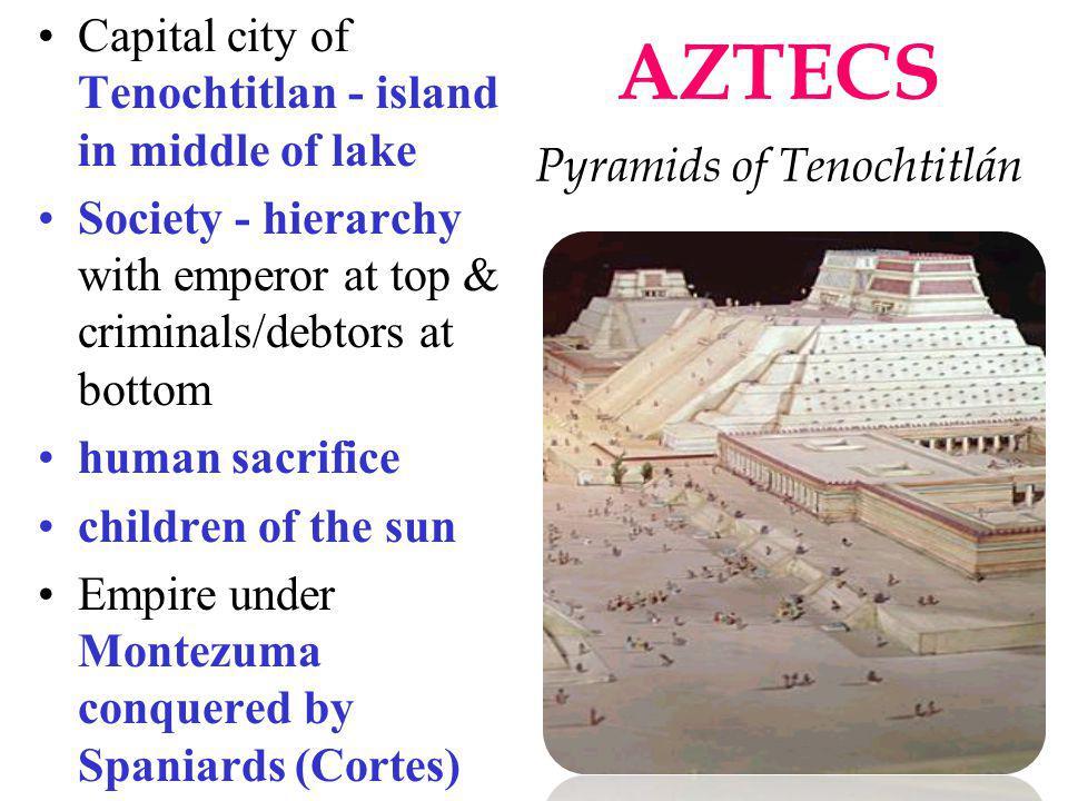 AZTECS Pyramids of Tenochtitlán