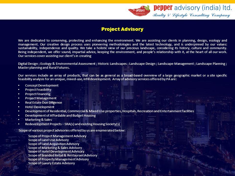 Project Advisory
