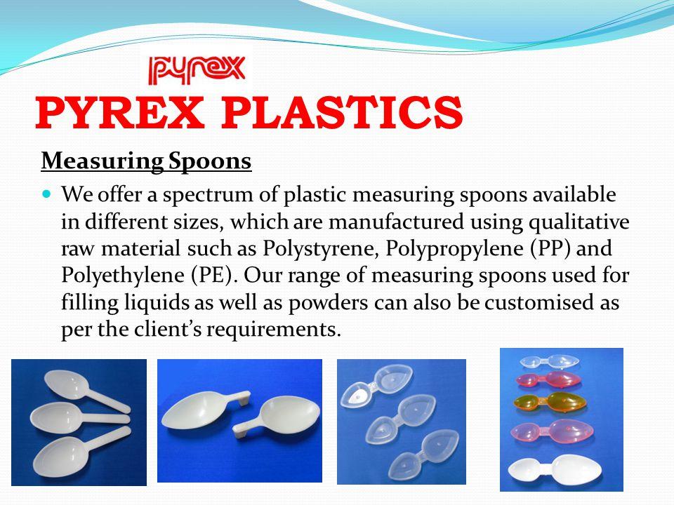 PYREX PLASTICS Measuring Spoons