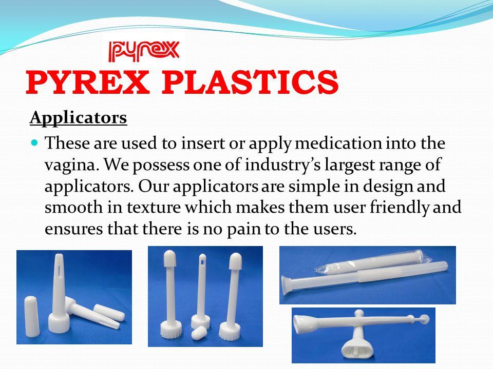 PYREX PLASTICS Applicators