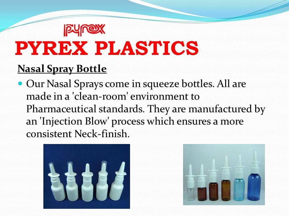 PYREX PLASTICS Nasal Spray Bottle