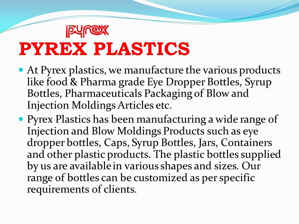 PYREX PLASTICS