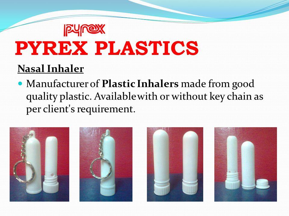 PYREX PLASTICS Nasal Inhaler