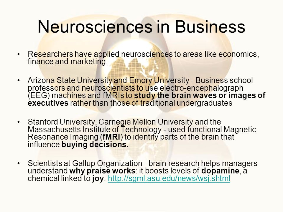 Neurosciences in Business