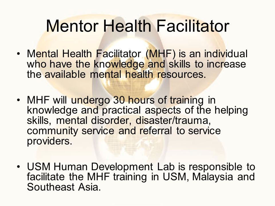 Mentor Health Facilitator