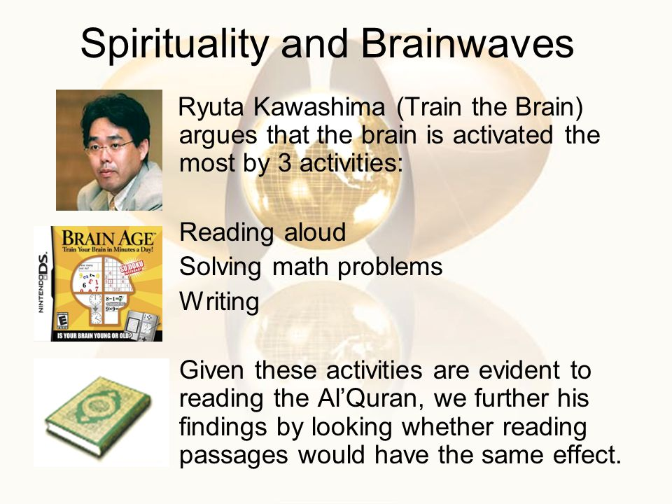 Spirituality and Brainwaves