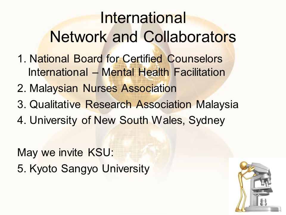 International Network and Collaborators