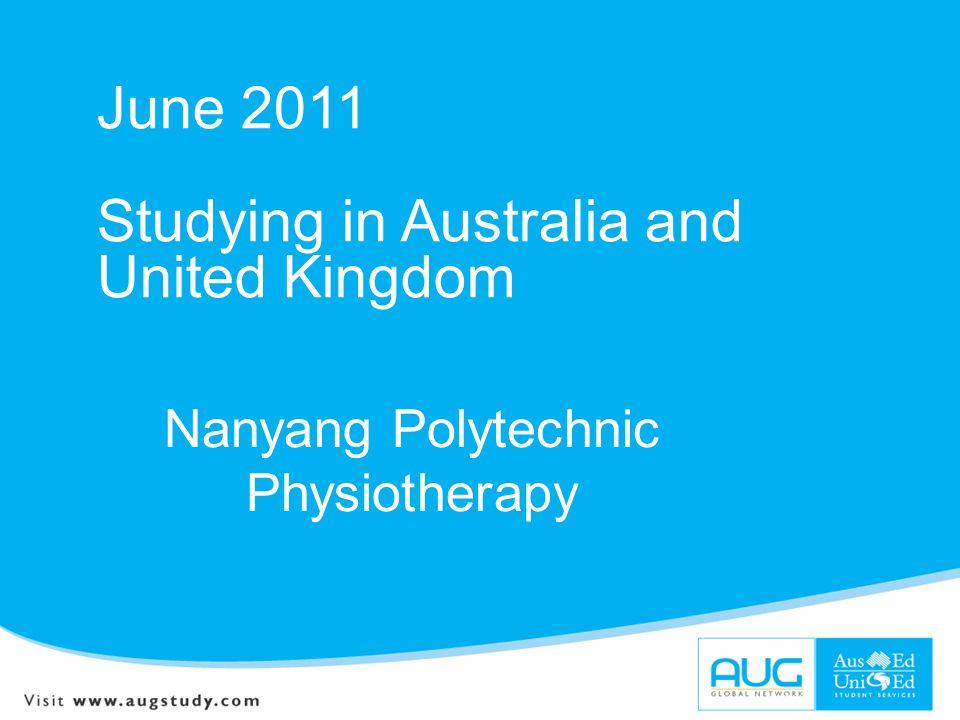 Nanyang Polytechnic Physiotherapy