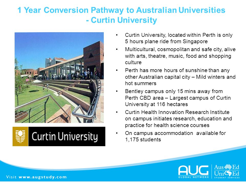 1 Year Conversion Pathway to Australian Universities