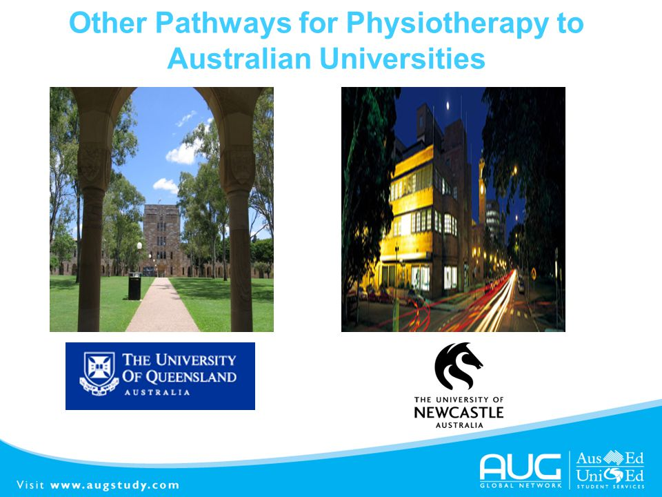 Other Pathways for Physiotherapy to Australian Universities