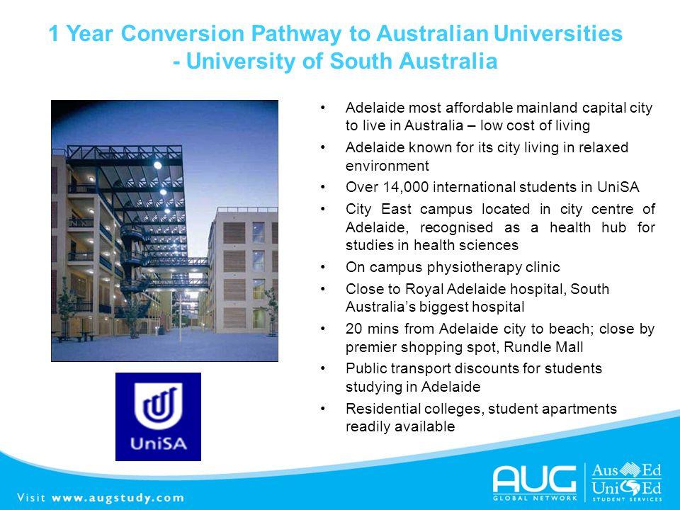 1 Year Conversion Pathway to Australian Universities
