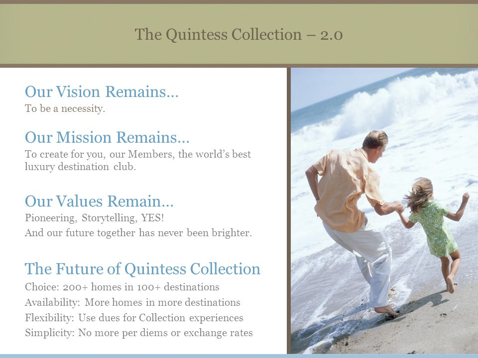 The Quintess Collection – 2.0