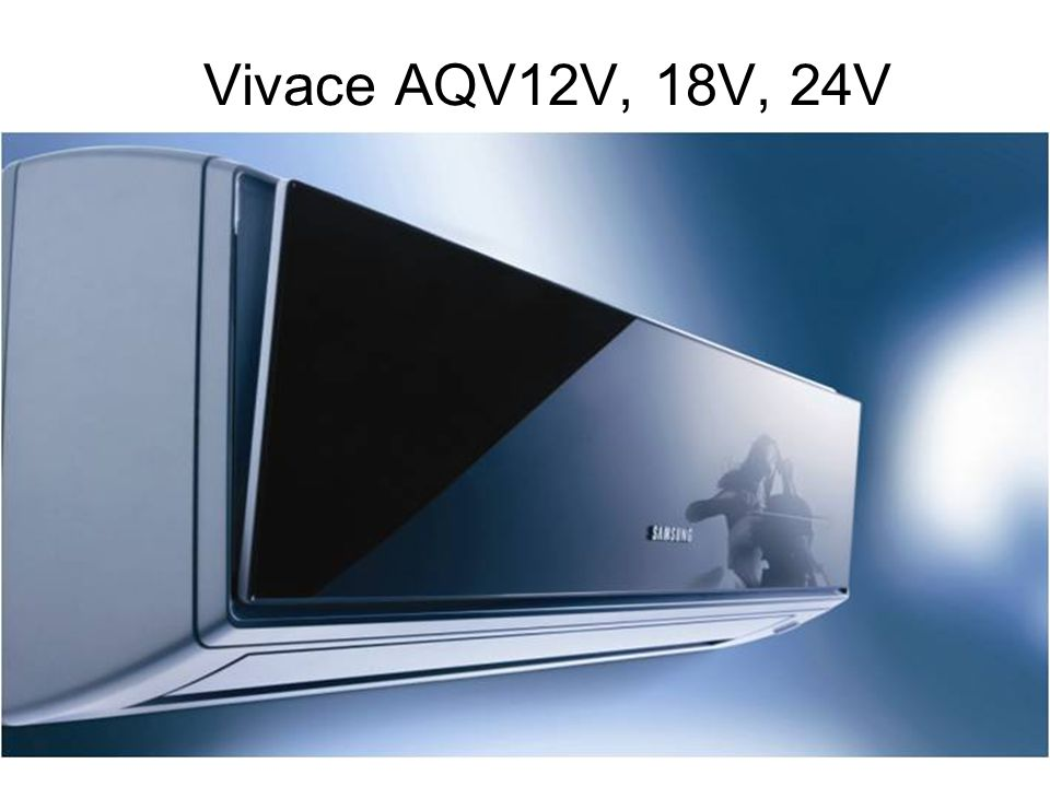 Vivace AQV12V, 18V, 24V Indoor and Outdoor units