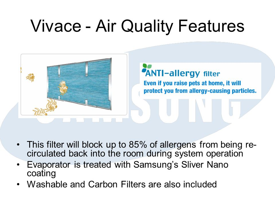 Vivace - Air Quality Features