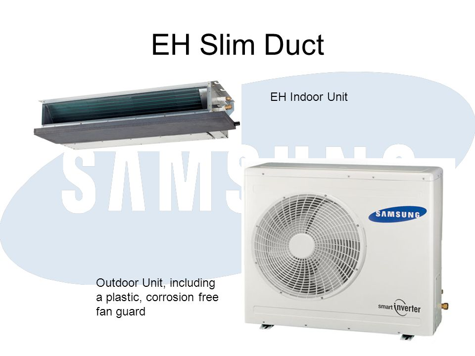 EH Slim Duct EH Indoor Unit