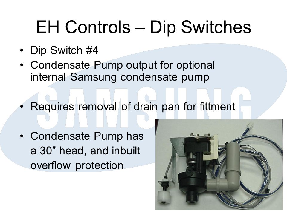 EH Controls – Dip Switches