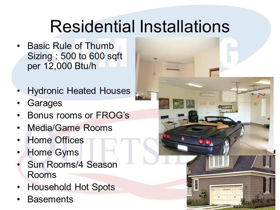 Residential Installations