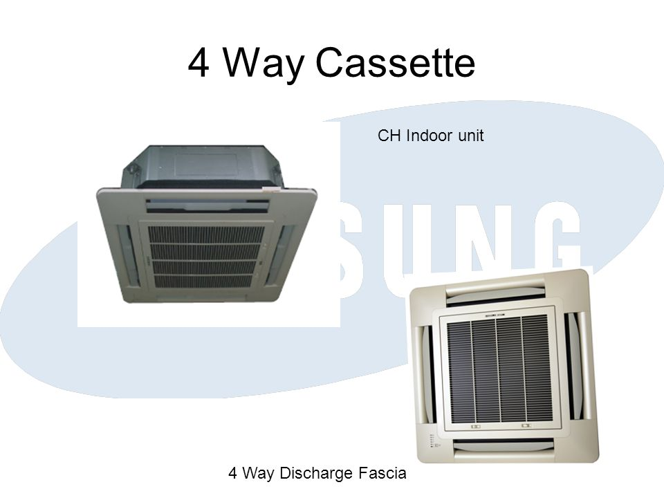 4 Way Cassette CH Indoor unit 4 Way Discharge Fascia