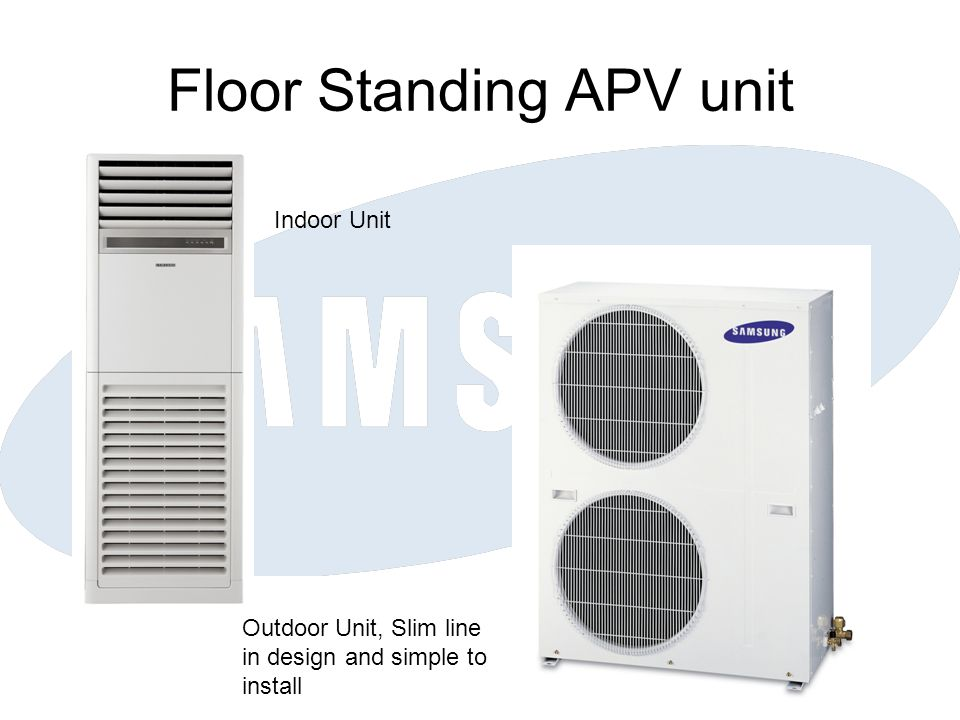 Floor Standing APV unit