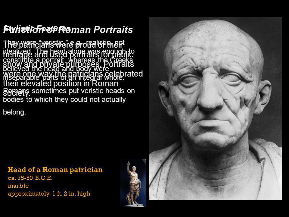 Function of Roman Portraits