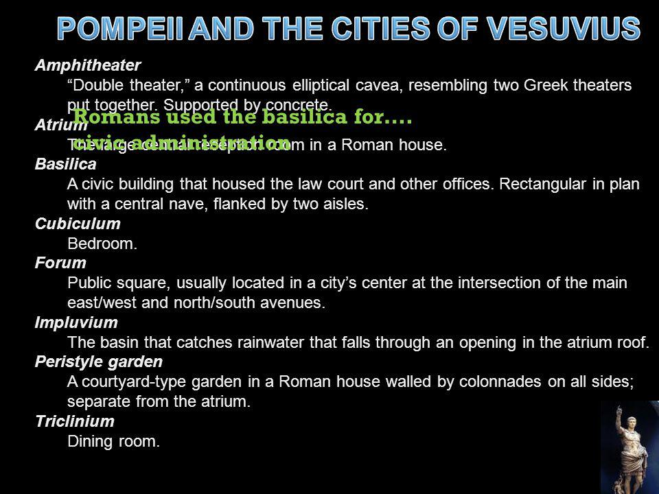 POMPEII AND THE CITIES OF VESUVIUS
