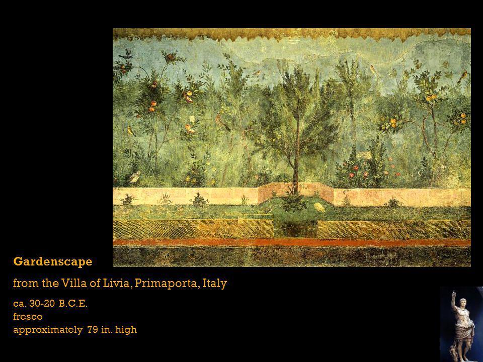 from the Villa of Livia, Primaporta, Italy