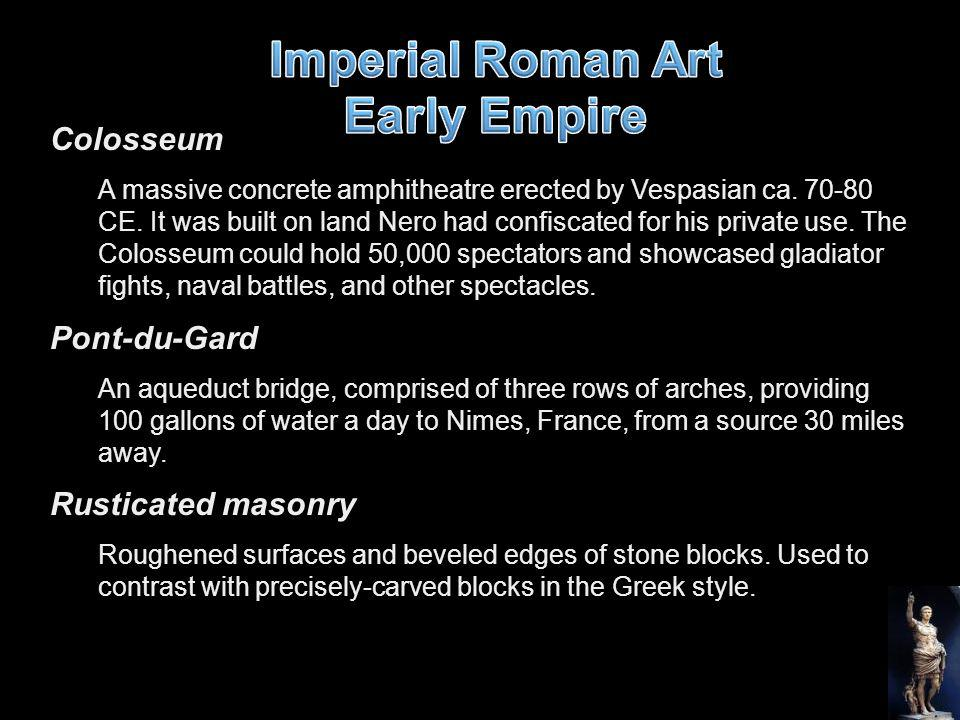 Imperial Roman Art Early Empire