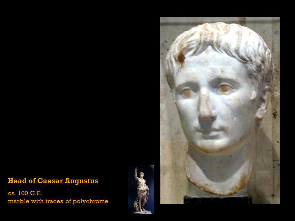 Head of Caesar Augustus