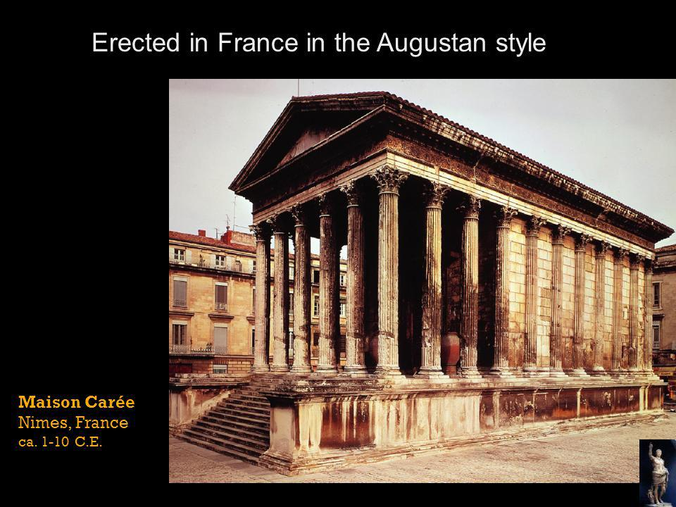 Erected in France in the Augustan style