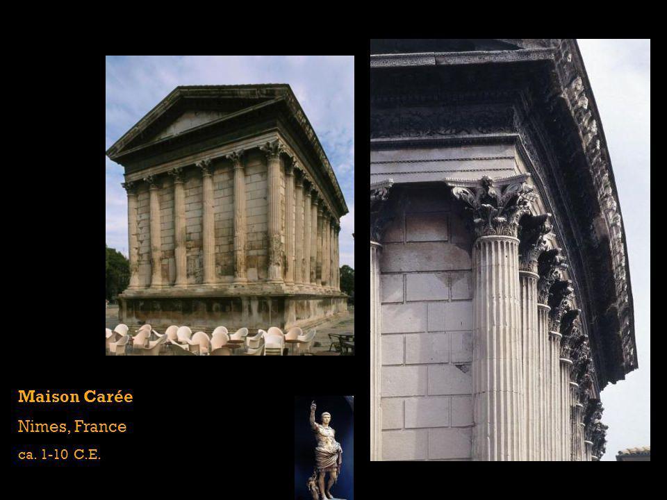 Maison Carée Nimes, France ca. 1-10 C.E.