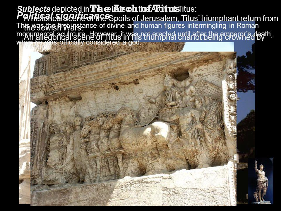 The Arch of Titus Political significance