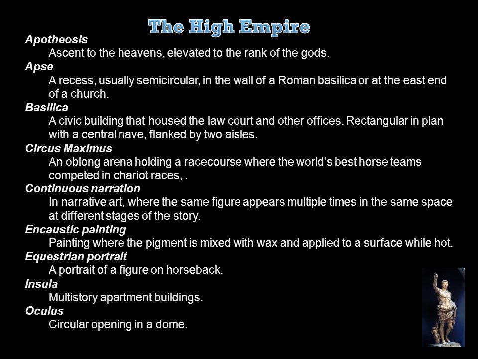 The High Empire Apotheosis