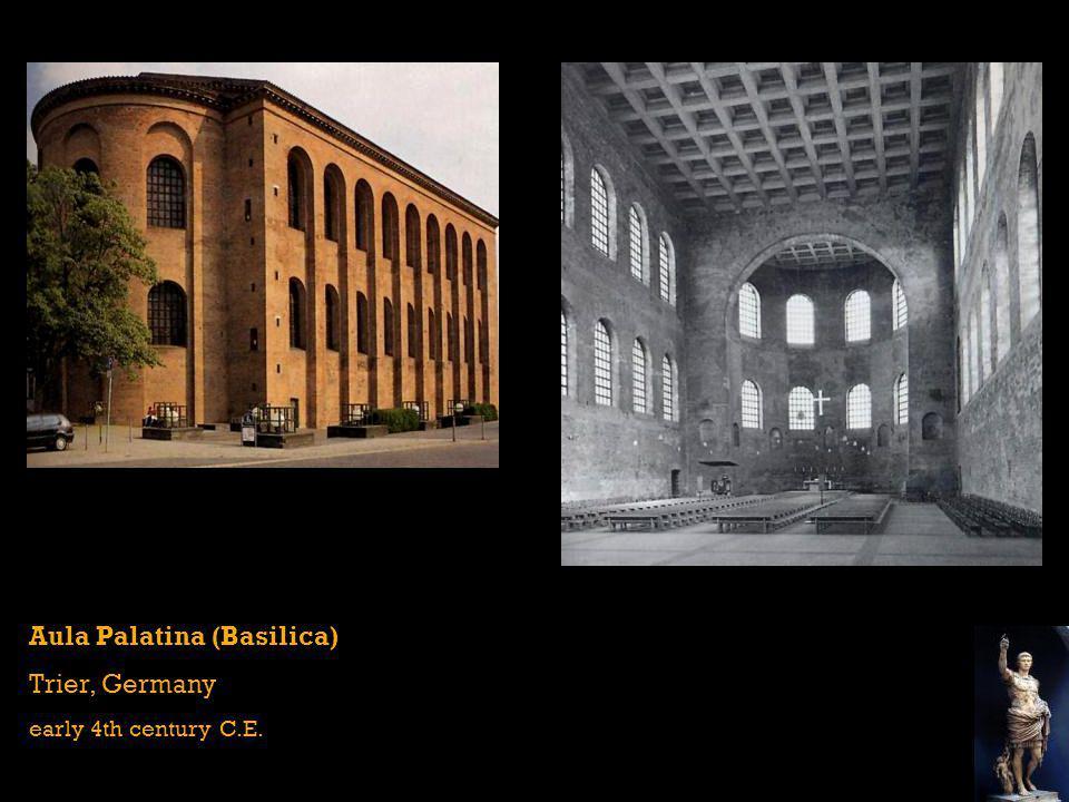 Aula Palatina Plan