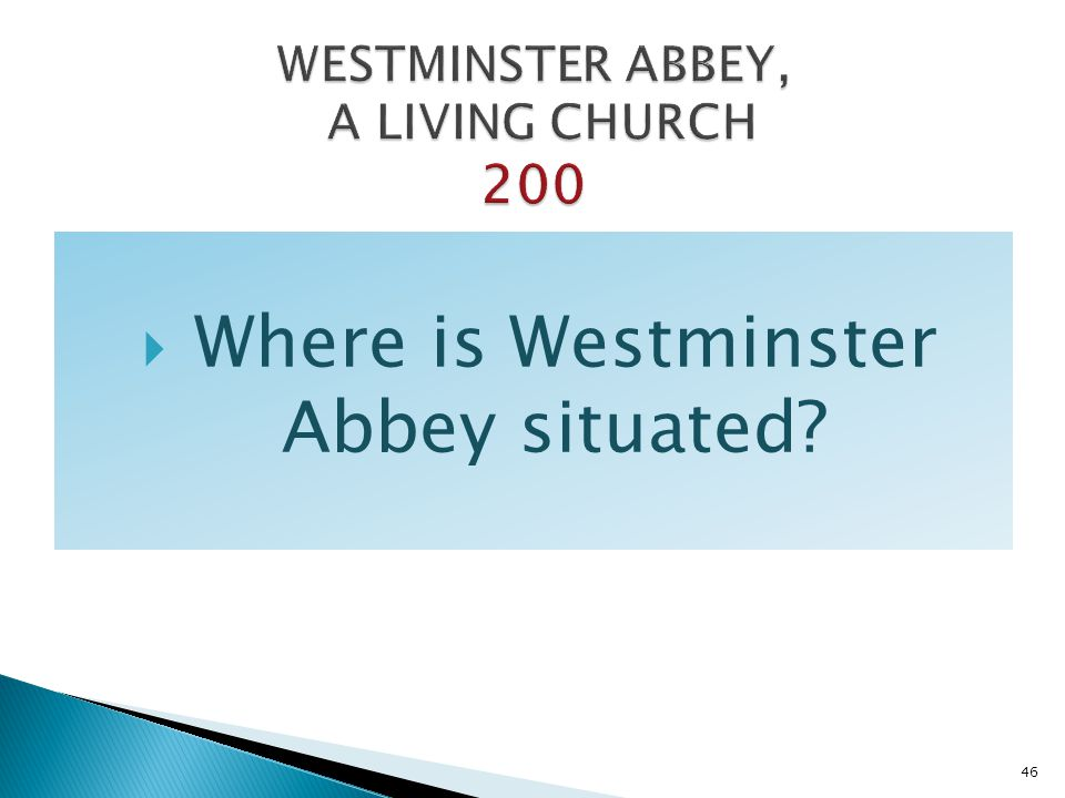 WESTMINSTER ABBEY, A LIVING CHURCH 200