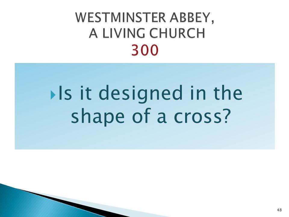 WESTMINSTER ABBEY, A LIVING CHURCH 300
