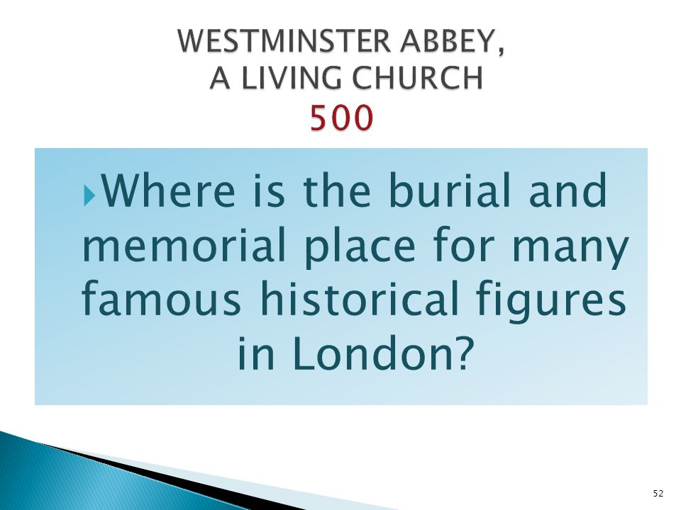 WESTMINSTER ABBEY, A LIVING CHURCH 500