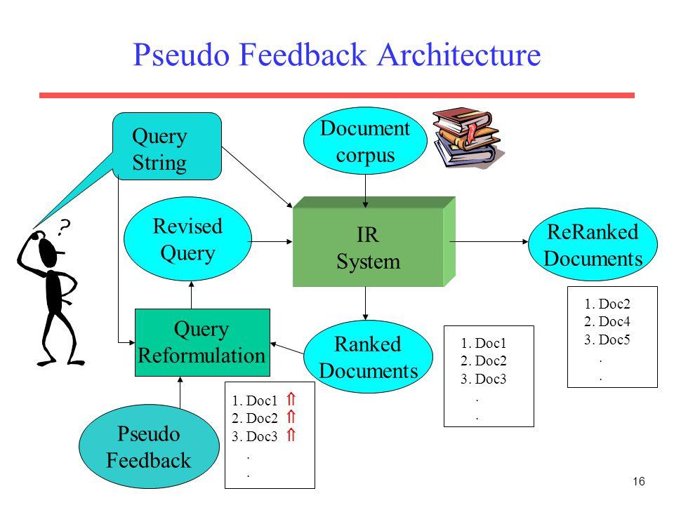 Pseudo Feedback Architecture