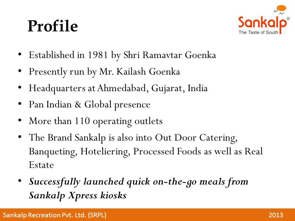 Profile Established in 1981 by Shri Ramavtar Goenka