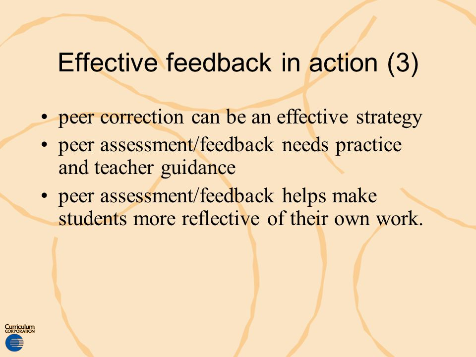 Effective feedback in action (3)