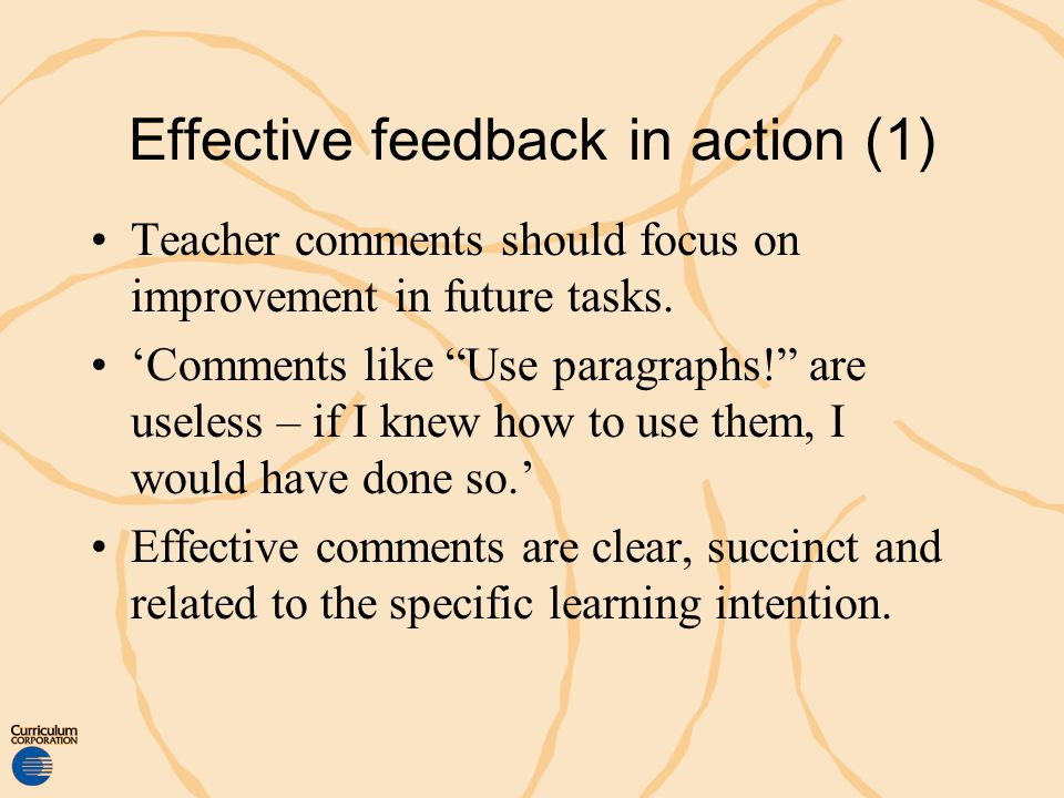 Effective feedback in action (1)