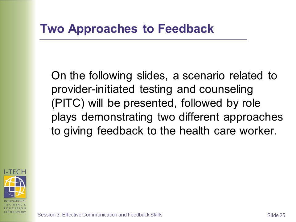 Two Approaches to Feedback
