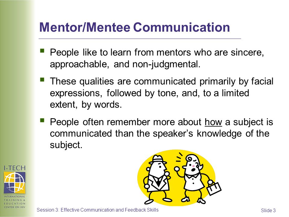 Mentor/Mentee Communication