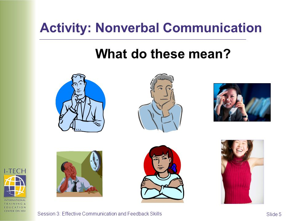 Activity: Nonverbal Communication