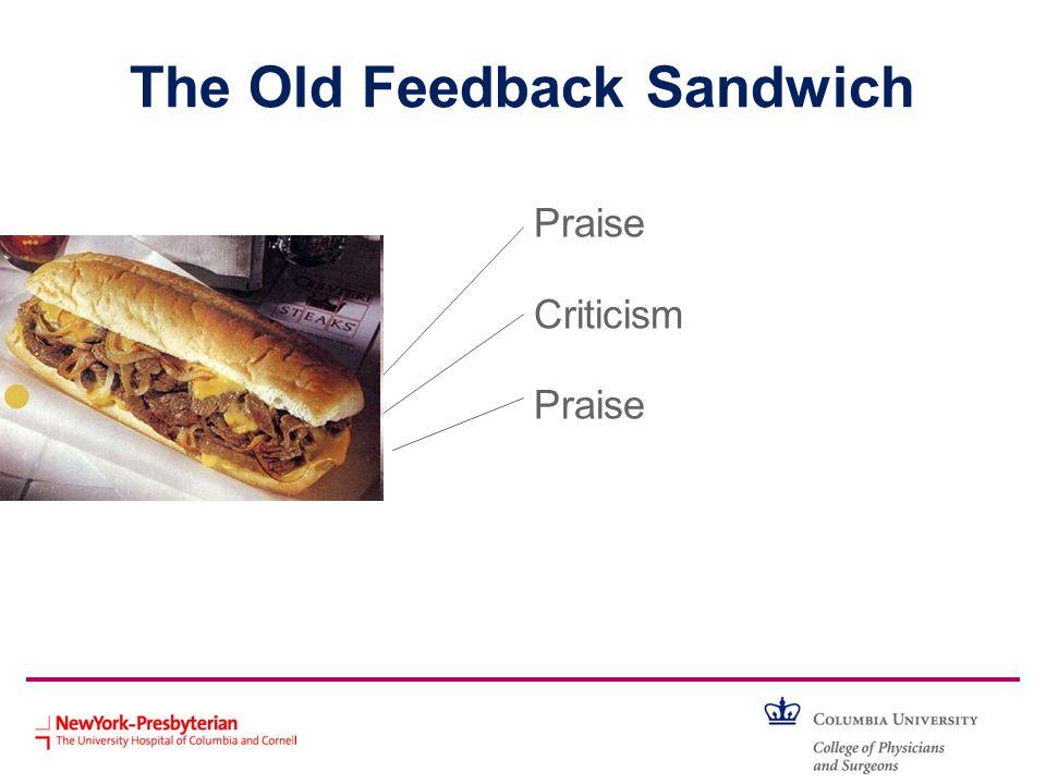 The Old Feedback Sandwich